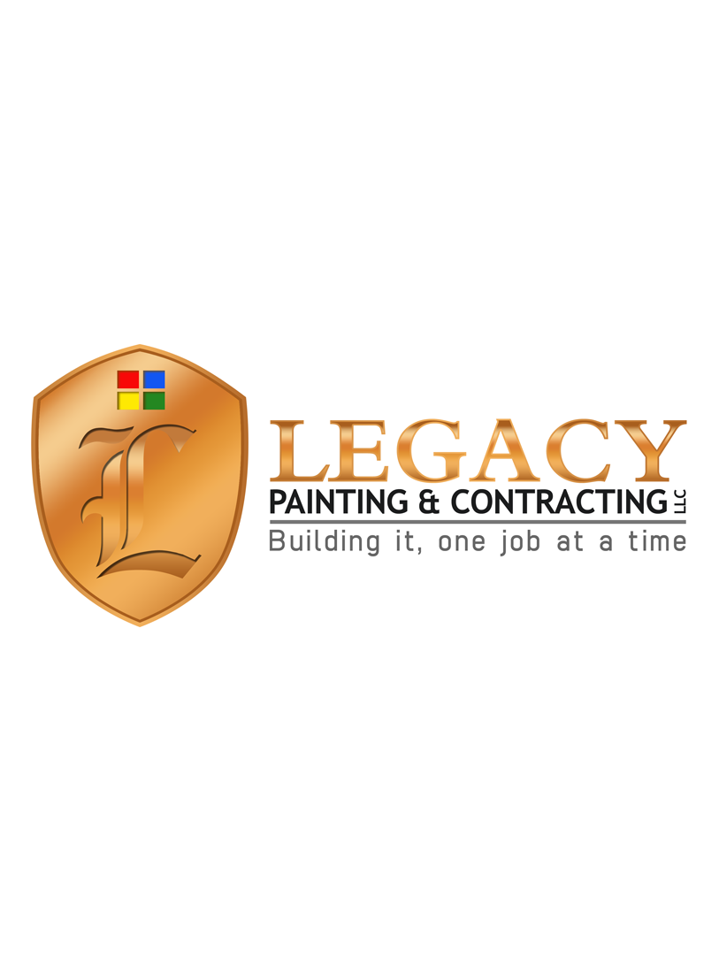 Logo Design by Private User - Entry No. 49 in the Logo Design Contest Logo Design for Legacy Painting & Contracting LLC.
