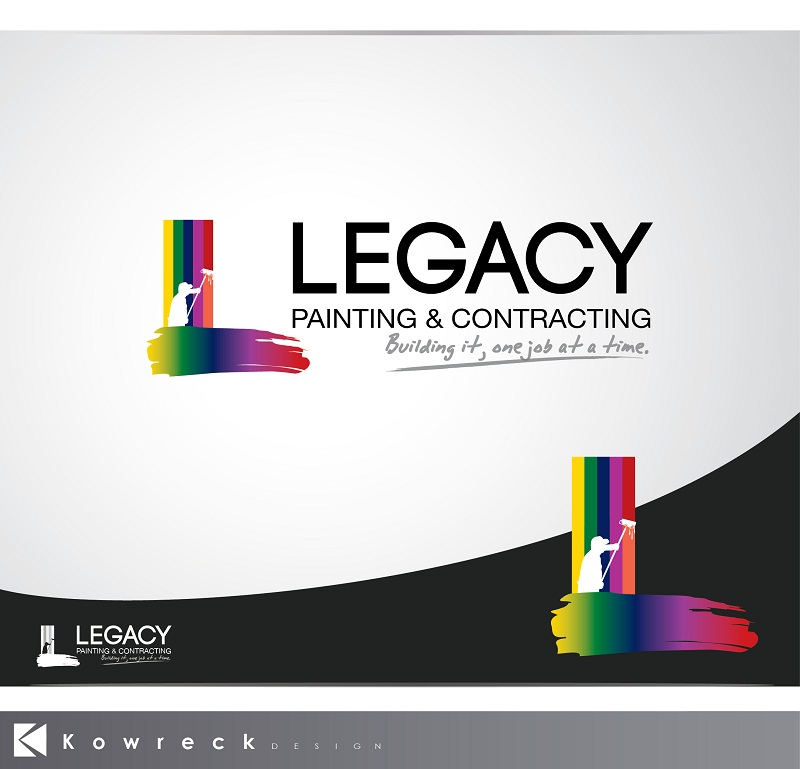 Logo Design by kowreck - Entry No. 52 in the Logo Design Contest Logo Design for Legacy Painting & Contracting LLC.