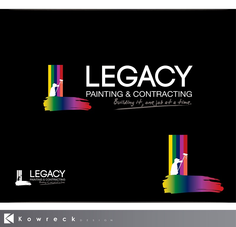 Logo Design by kowreck - Entry No. 53 in the Logo Design Contest Logo Design for Legacy Painting & Contracting LLC.