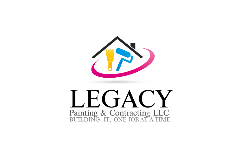 Logo Design by Private User - Entry No. 54 in the Logo Design Contest Logo Design for Legacy Painting & Contracting LLC.