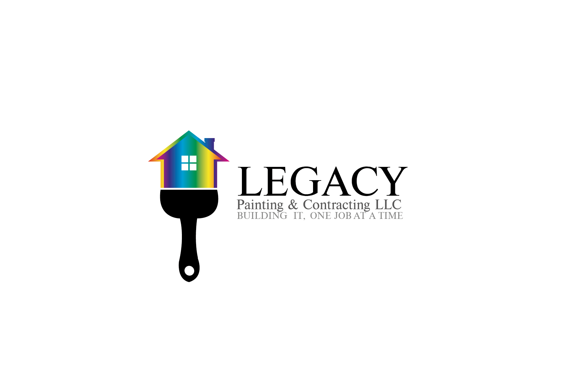 Logo Design by Private User - Entry No. 55 in the Logo Design Contest Logo Design for Legacy Painting & Contracting LLC.