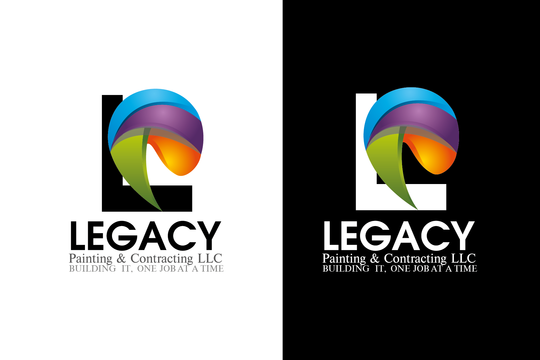 Logo Design by Private User - Entry No. 56 in the Logo Design Contest Logo Design for Legacy Painting & Contracting LLC.