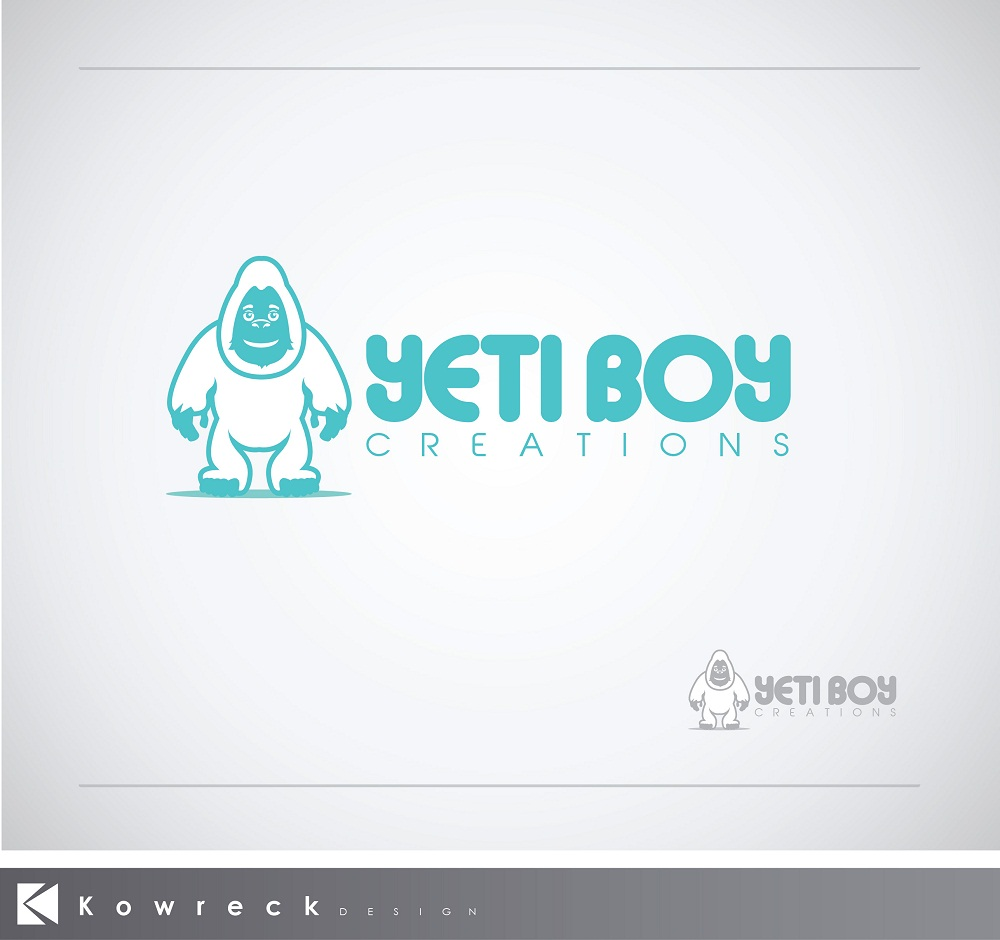 Logo Design by kowreck - Entry No. 13 in the Logo Design Contest Captivating Logo Design for Yeti Boy Creations.
