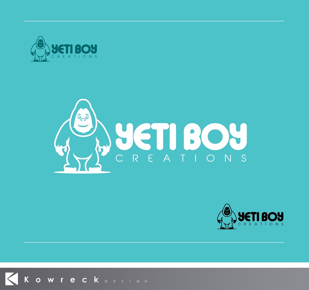 Logo Design by kowreck - Entry No. 15 in the Logo Design Contest Captivating Logo Design for Yeti Boy Creations.