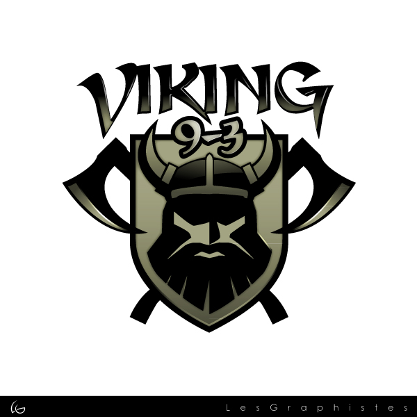 Logo Design by Les-Graphistes - Entry No. 47 in the Logo Design Contest Logo Design for Viking 9-3 MilSim Unit.