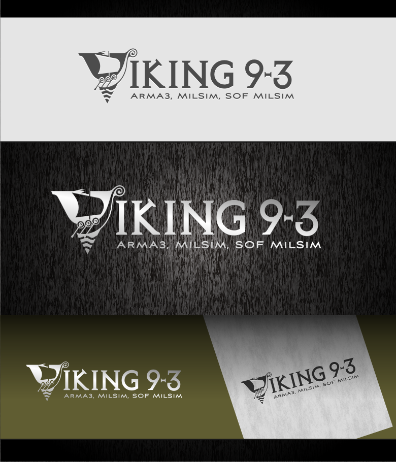 Logo Design by graphicleaf - Entry No. 48 in the Logo Design Contest Logo Design for Viking 9-3 MilSim Unit.