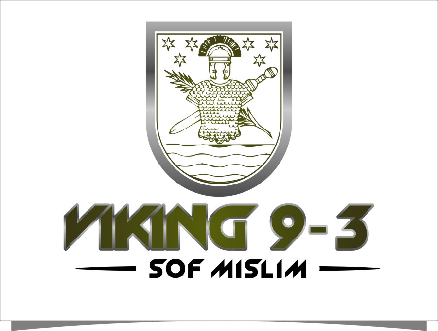 Logo Design by RoSyid Rono-Rene On Java - Entry No. 49 in the Logo Design Contest Logo Design for Viking 9-3 MilSim Unit.