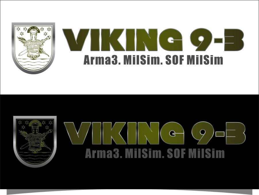 Logo Design by RasYa Muhammad Athaya - Entry No. 50 in the Logo Design Contest Logo Design for Viking 9-3 MilSim Unit.