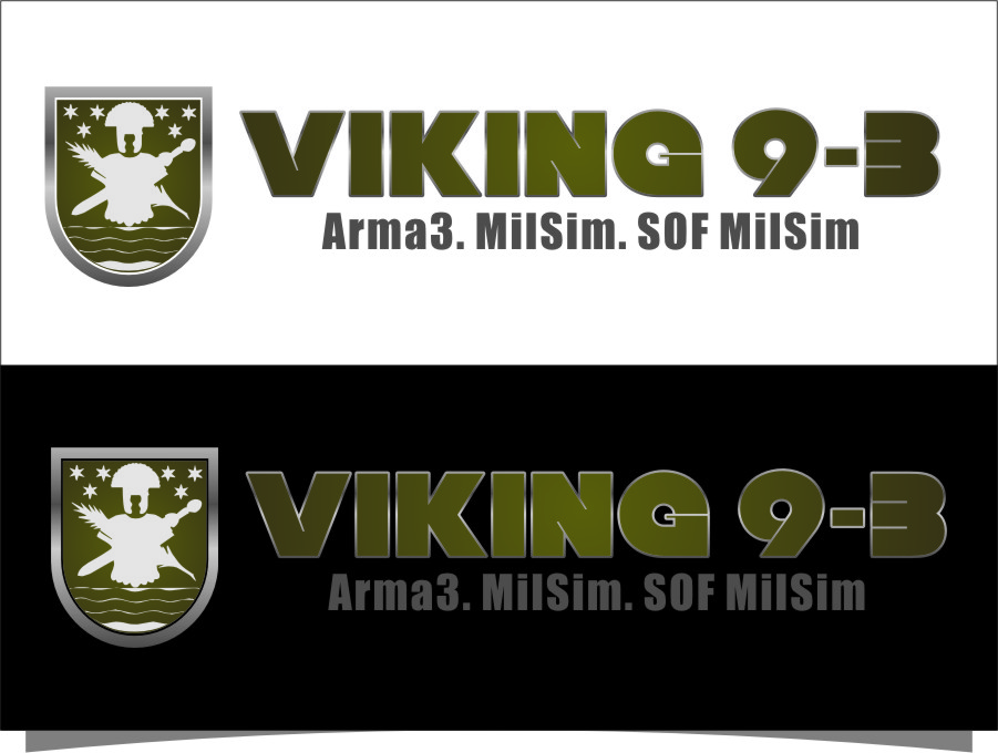 Logo Design by RoSyid Rono-Rene On Java - Entry No. 52 in the Logo Design Contest Logo Design for Viking 9-3 MilSim Unit.