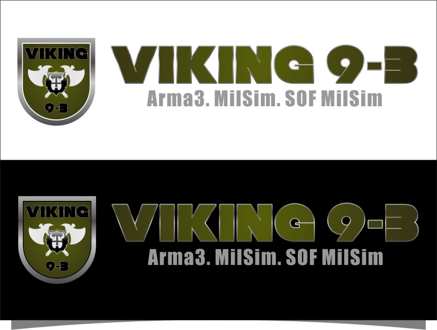 Logo Design by RoSyid Rono-Rene On Java - Entry No. 53 in the Logo Design Contest Logo Design for Viking 9-3 MilSim Unit.
