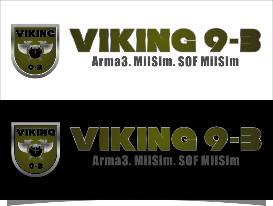 Logo Design by RasYa Muhammad Athaya - Entry No. 55 in the Logo Design Contest Logo Design for Viking 9-3 MilSim Unit.