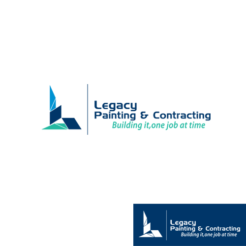 Logo Design by Ryan_Taufik - Entry No. 58 in the Logo Design Contest Logo Design for Legacy Painting & Contracting LLC.