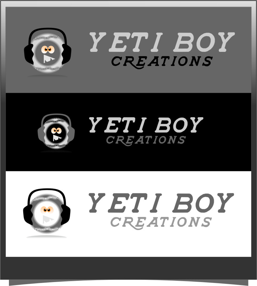 Logo Design by RasYa Muhammad Athaya - Entry No. 17 in the Logo Design Contest Captivating Logo Design for Yeti Boy Creations.