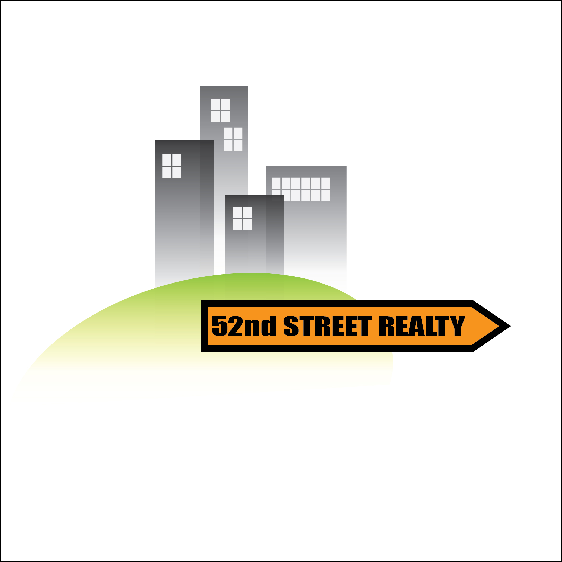 Logo Design by Chandrodayan Mavadian - Entry No. 115 in the Logo Design Contest 52nd Street Realty Logo Design.