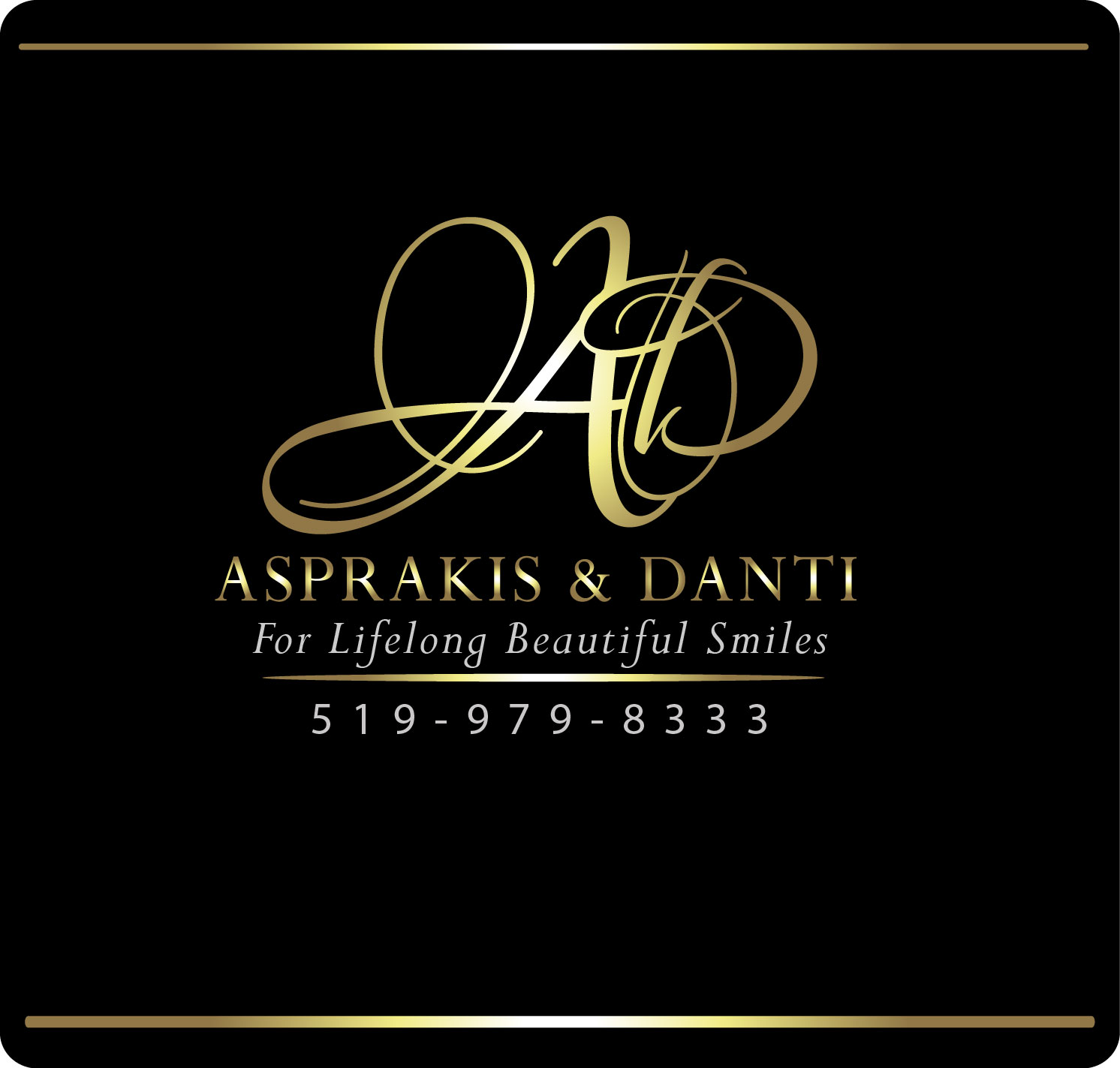 Logo Design by Darina Dimitrova - Entry No. 43 in the Logo Design Contest Unique Logo Design Wanted for Asprakis and Danti.