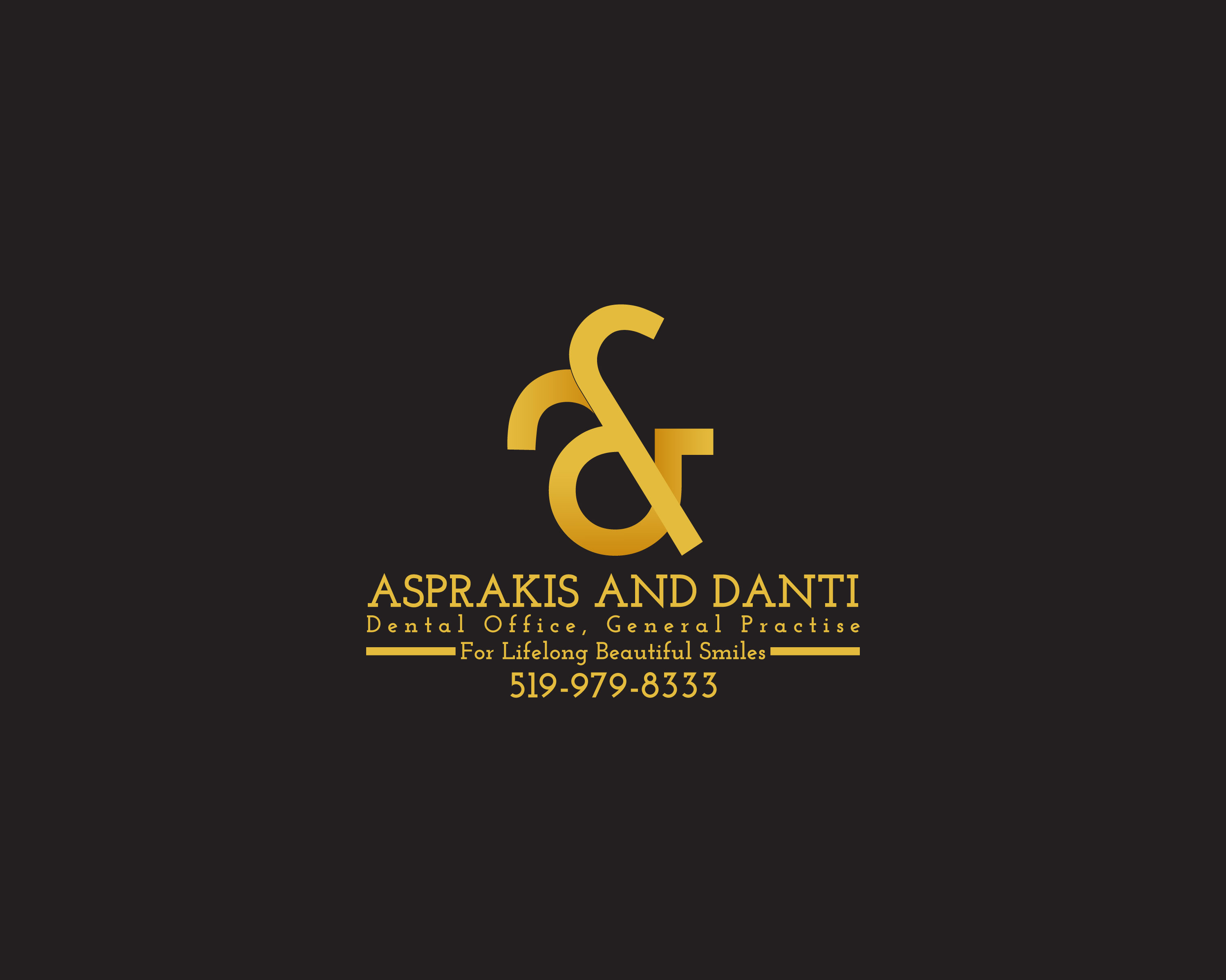 Logo Design by Dit L Pambudi - Entry No. 44 in the Logo Design Contest Unique Logo Design Wanted for Asprakis and Danti.