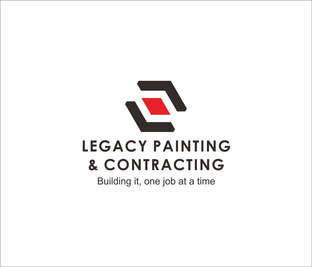 Logo Design by Armada Jamaluddin - Entry No. 59 in the Logo Design Contest Logo Design for Legacy Painting & Contracting LLC.