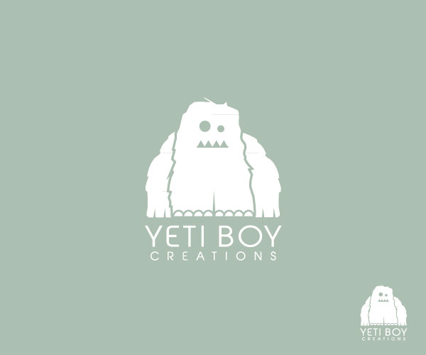 Logo Design by SERO - Entry No. 23 in the Logo Design Contest Captivating Logo Design for Yeti Boy Creations.