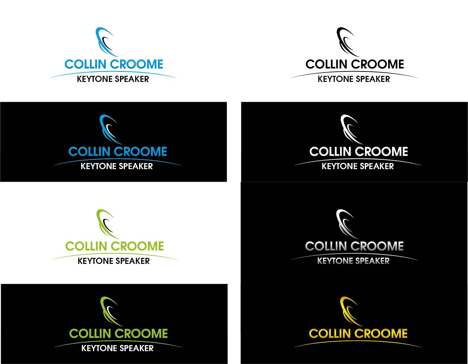 Logo Design by Private User - Entry No. 98 in the Logo Design Contest Modern Logo Design for Collin Croome.