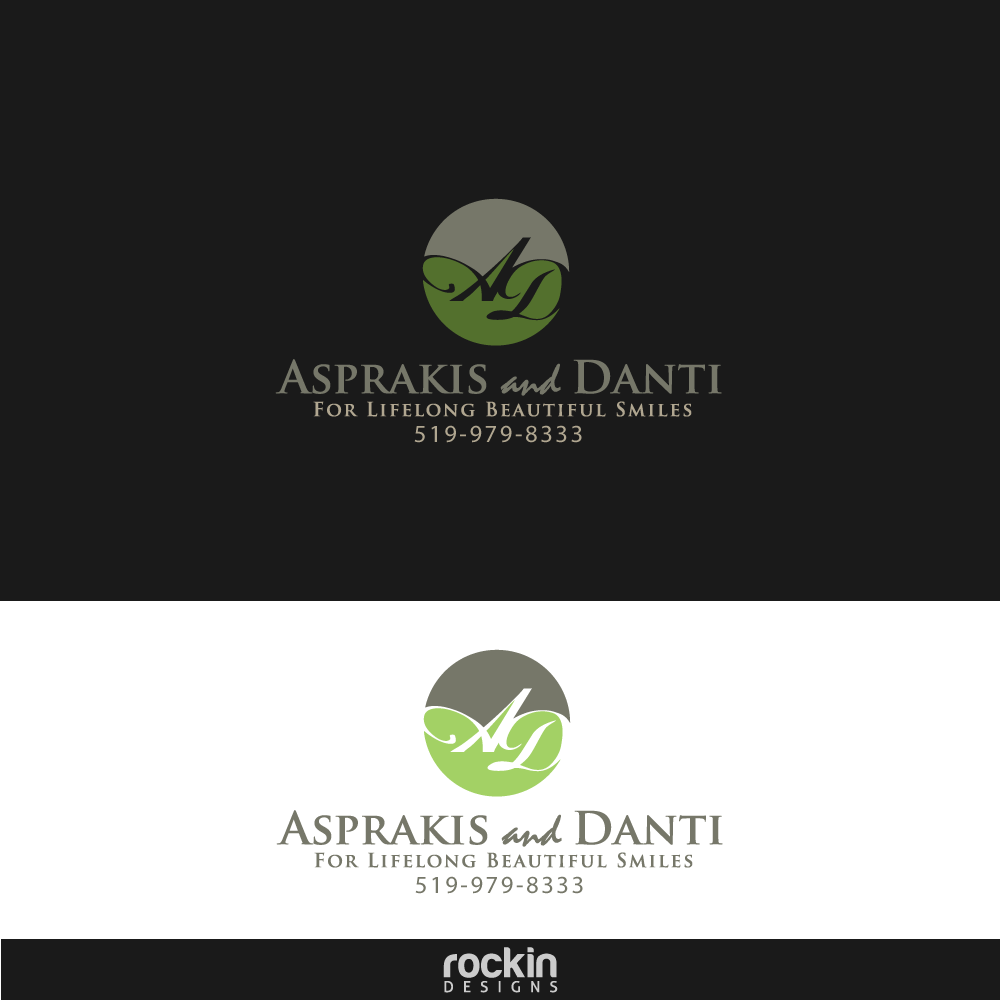 Logo Design by rockin - Entry No. 55 in the Logo Design Contest Unique Logo Design Wanted for Asprakis and Danti.