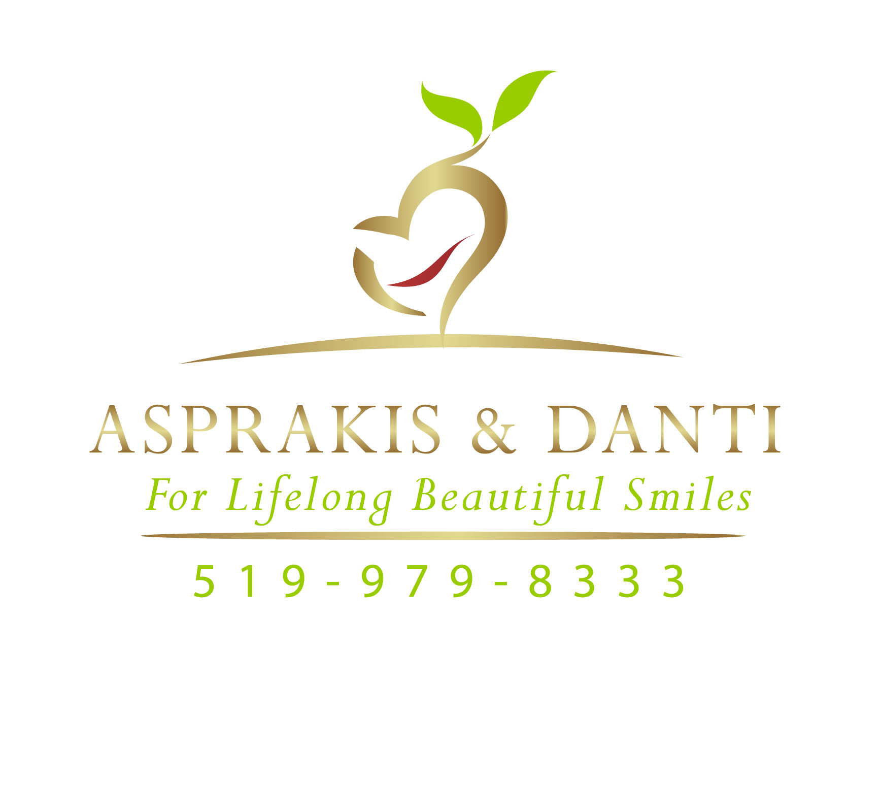 Logo Design by Darina Dimitrova - Entry No. 56 in the Logo Design Contest Unique Logo Design Wanted for Asprakis and Danti.