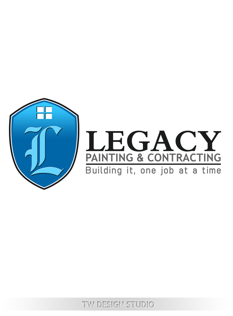 Logo Design by Robert Turla - Entry No. 61 in the Logo Design Contest Logo Design for Legacy Painting & Contracting LLC.