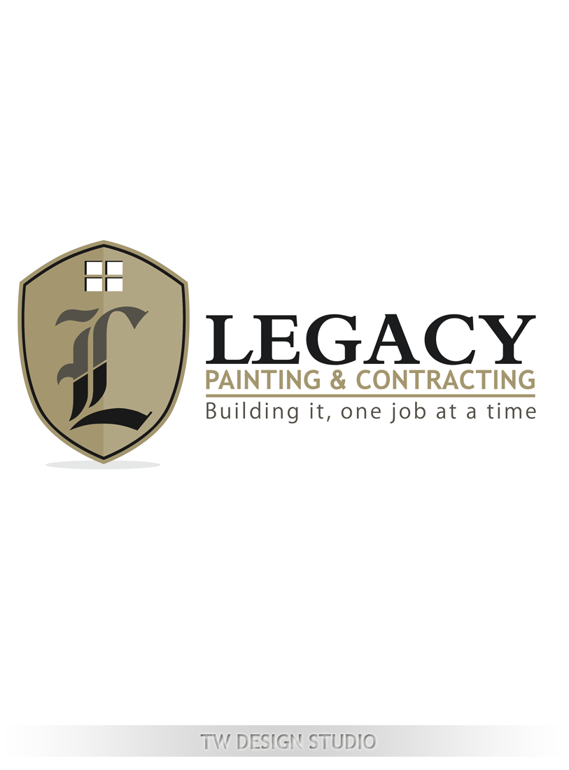 Logo Design by Private User - Entry No. 62 in the Logo Design Contest Logo Design for Legacy Painting & Contracting LLC.