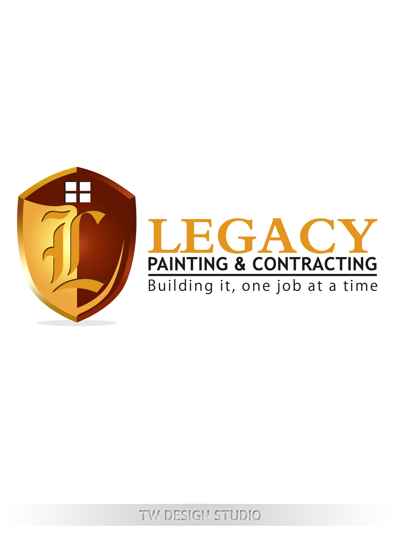Logo Design by Private User - Entry No. 63 in the Logo Design Contest Logo Design for Legacy Painting & Contracting LLC.