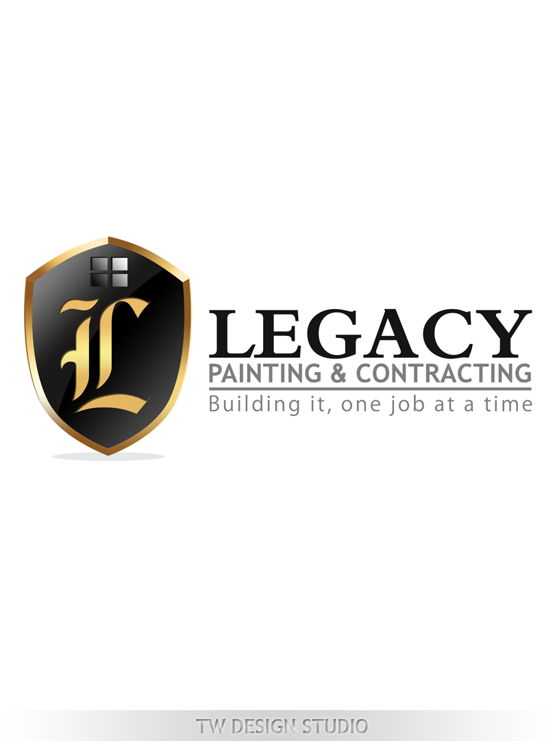 Logo Design by Private User - Entry No. 64 in the Logo Design Contest Logo Design for Legacy Painting & Contracting LLC.