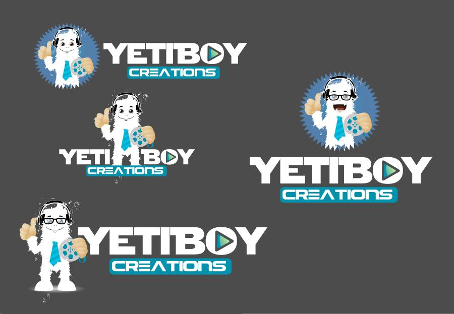 Logo Design by Private User - Entry No. 25 in the Logo Design Contest Captivating Logo Design for Yeti Boy Creations.