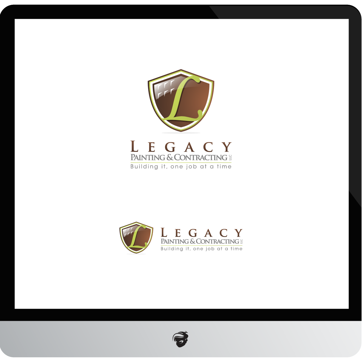 Logo Design by zesthar - Entry No. 65 in the Logo Design Contest Logo Design for Legacy Painting & Contracting LLC.
