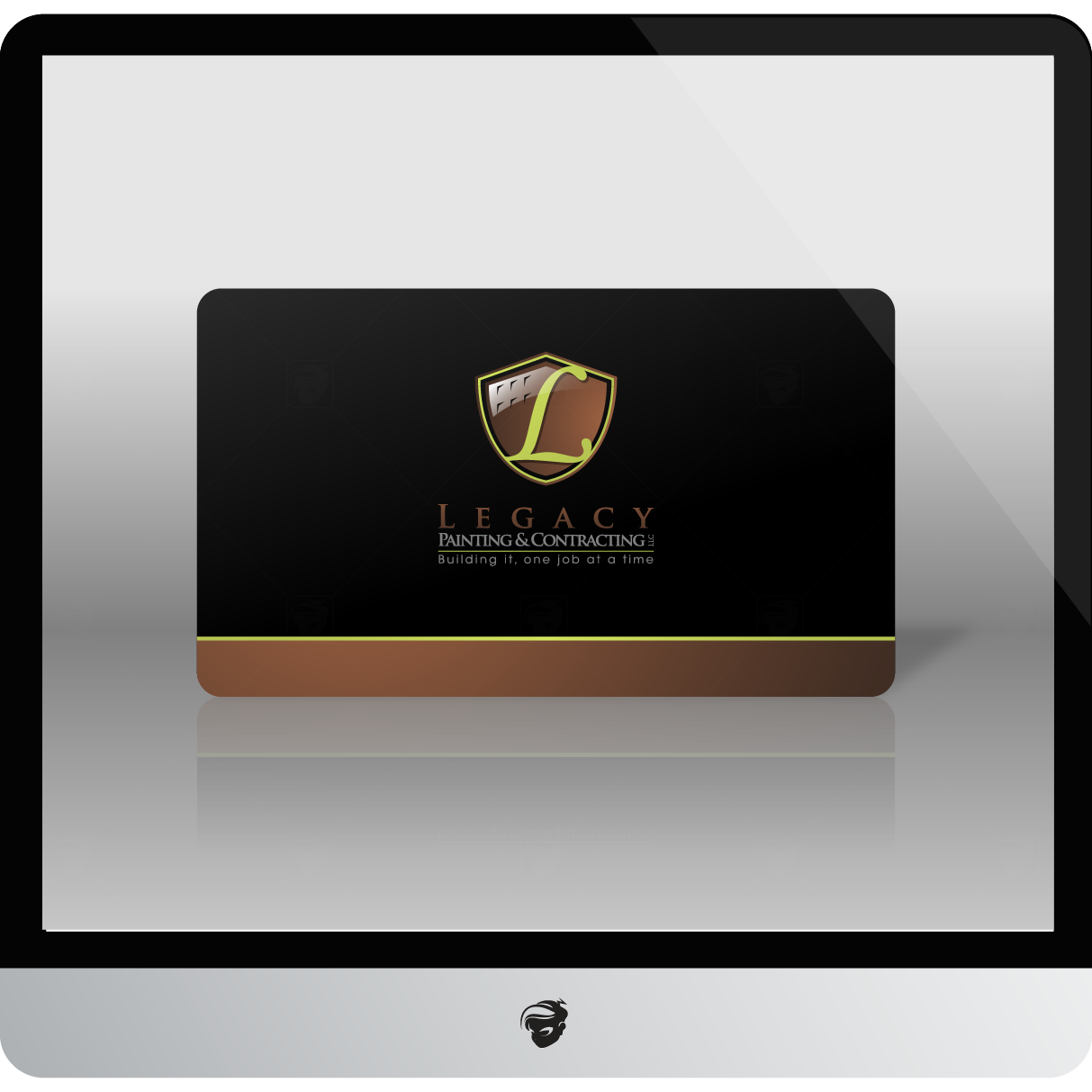 Logo Design by zesthar - Entry No. 66 in the Logo Design Contest Logo Design for Legacy Painting & Contracting LLC.