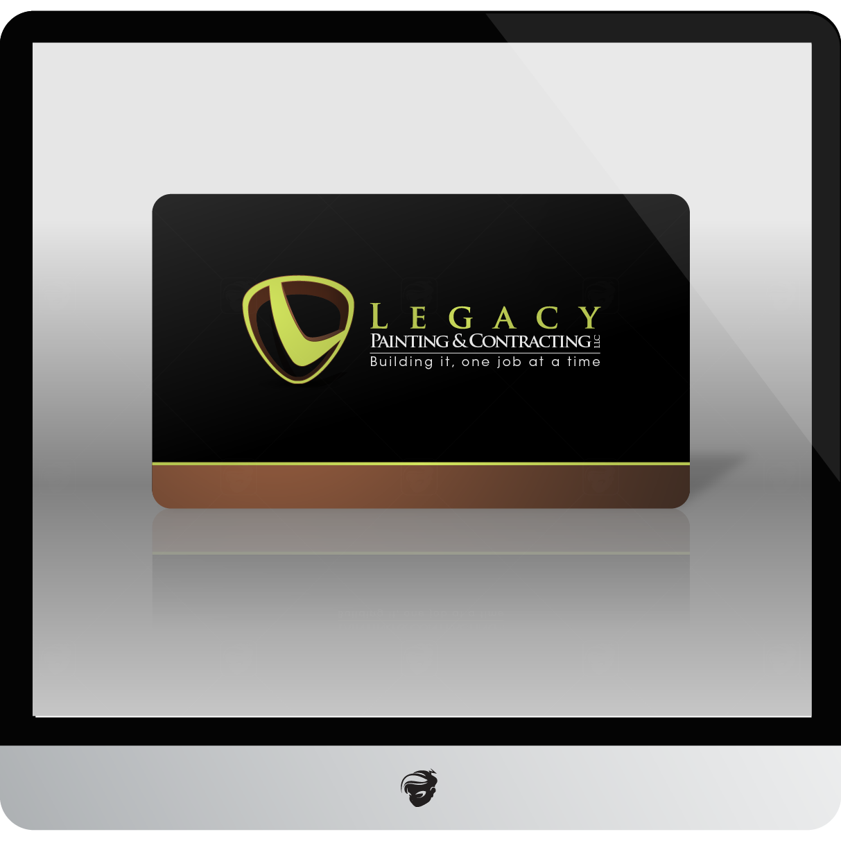 Logo Design by zesthar - Entry No. 67 in the Logo Design Contest Logo Design for Legacy Painting & Contracting LLC.