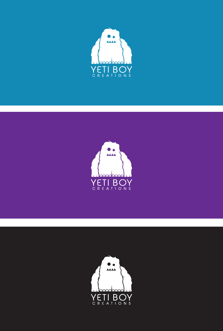 Logo Design by SERO - Entry No. 26 in the Logo Design Contest Captivating Logo Design for Yeti Boy Creations.