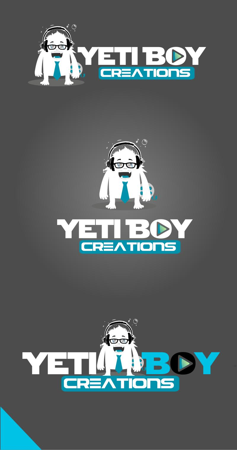 Logo Design by Private User - Entry No. 28 in the Logo Design Contest Captivating Logo Design for Yeti Boy Creations.
