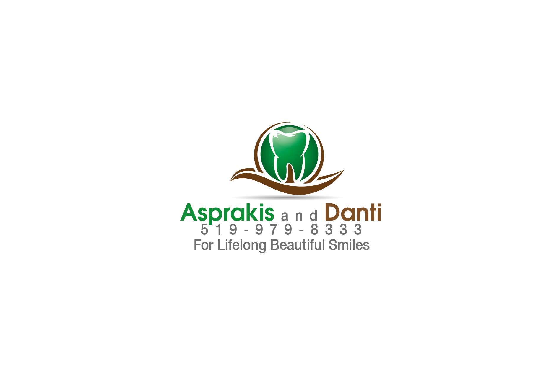Logo Design by Private User - Entry No. 62 in the Logo Design Contest Unique Logo Design Wanted for Asprakis and Danti.