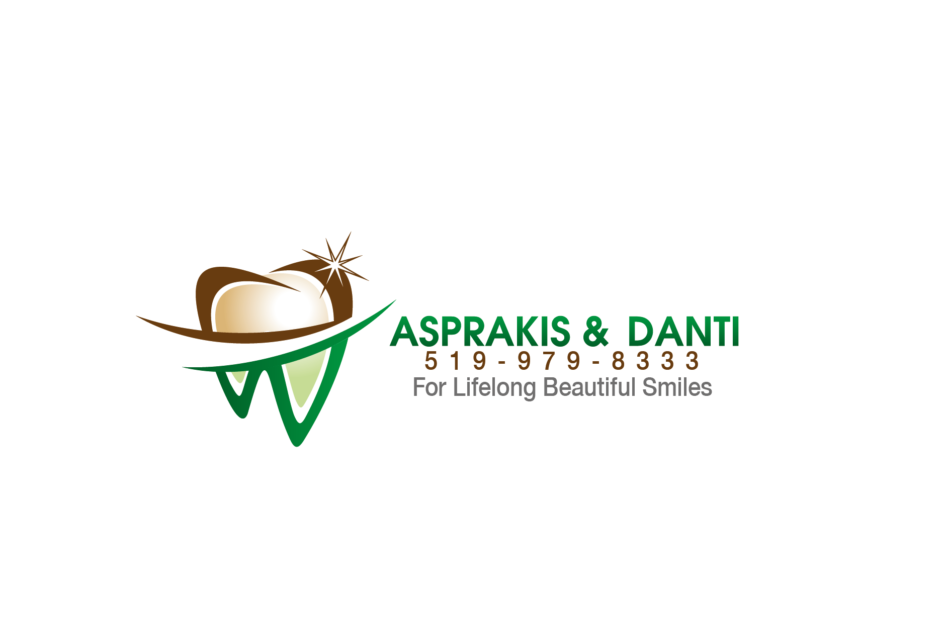 Logo Design by Private User - Entry No. 66 in the Logo Design Contest Unique Logo Design Wanted for Asprakis and Danti.