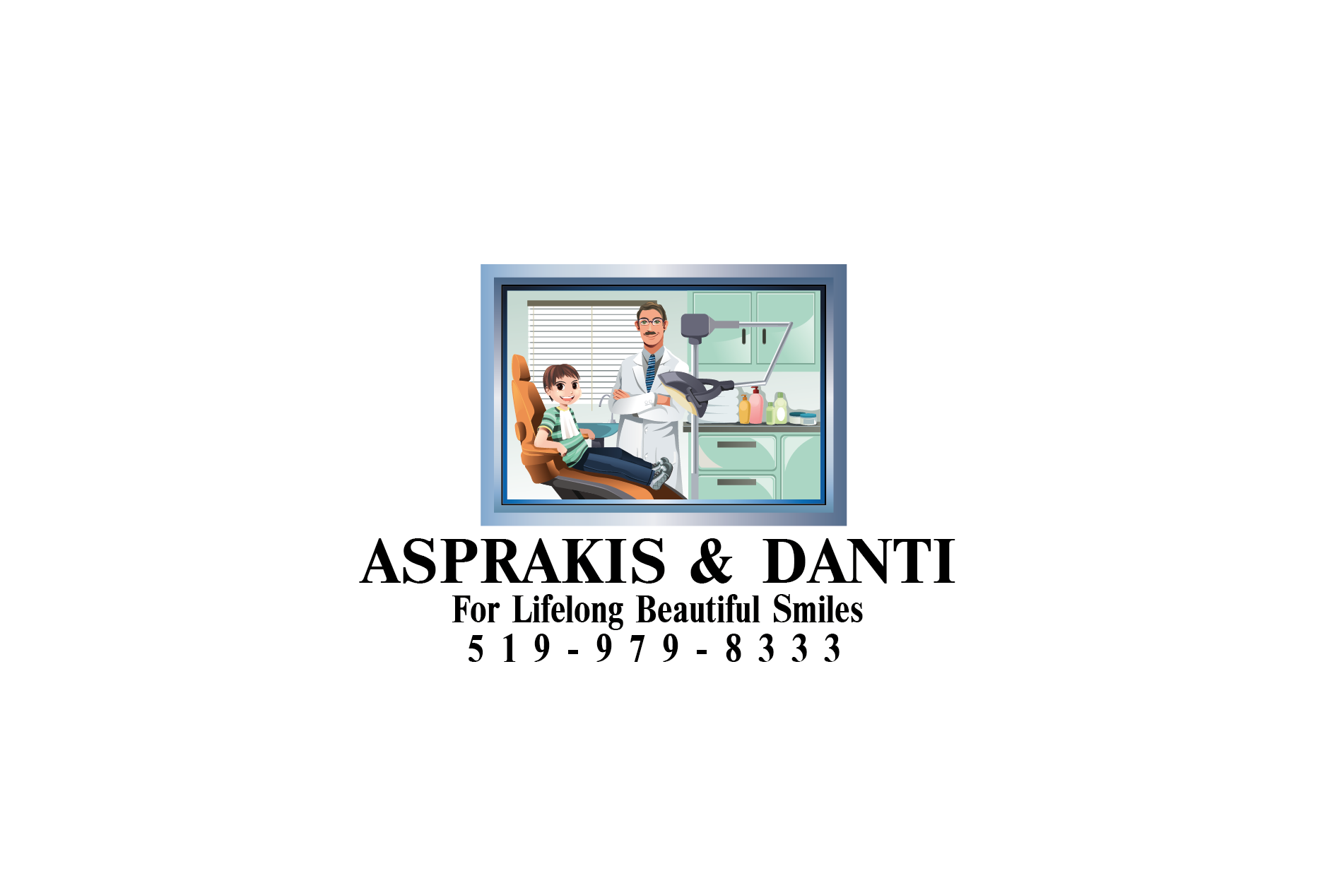 Logo Design by Digital Designs - Entry No. 69 in the Logo Design Contest Unique Logo Design Wanted for Asprakis and Danti.