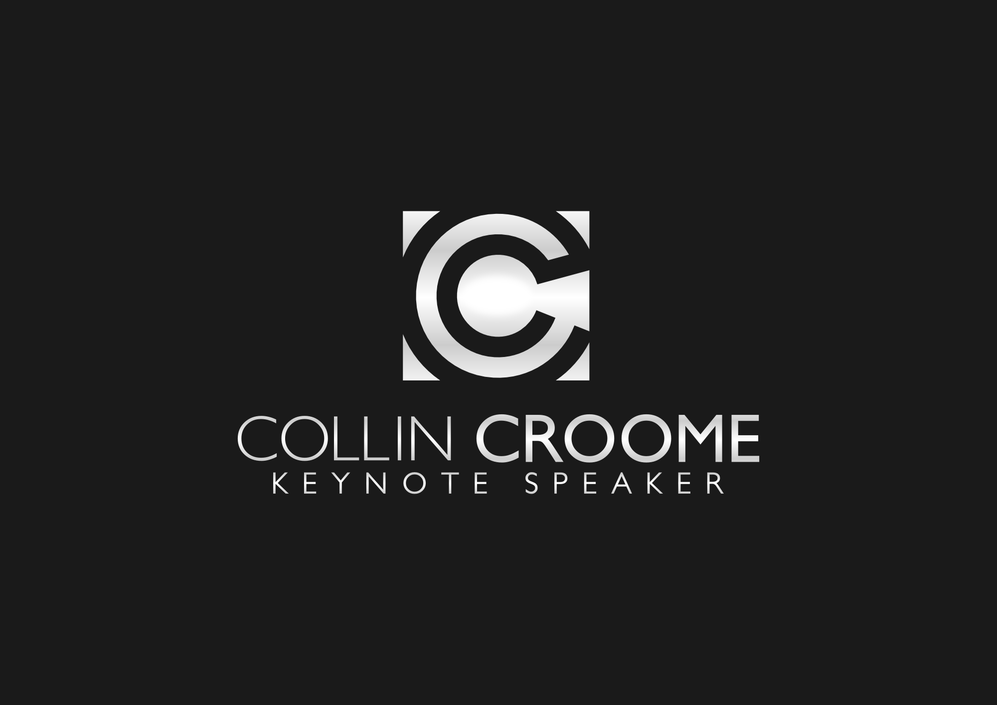 Logo Design by explogos - Entry No. 105 in the Logo Design Contest Modern Logo Design for Collin Croome.