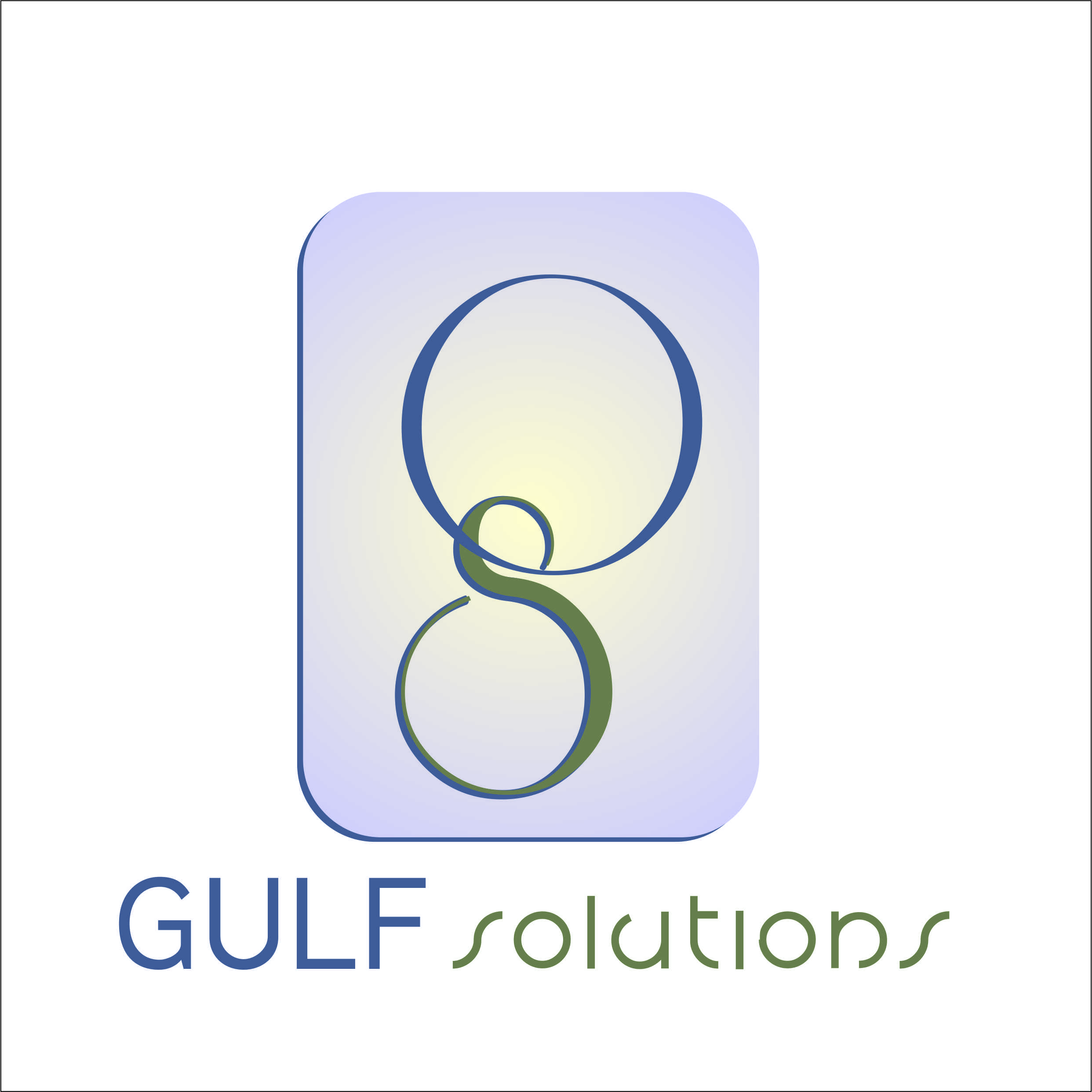 Logo Design by chandruu_rc - Entry No. 137 in the Logo Design Contest New Logo Design for Gulf solutions company.