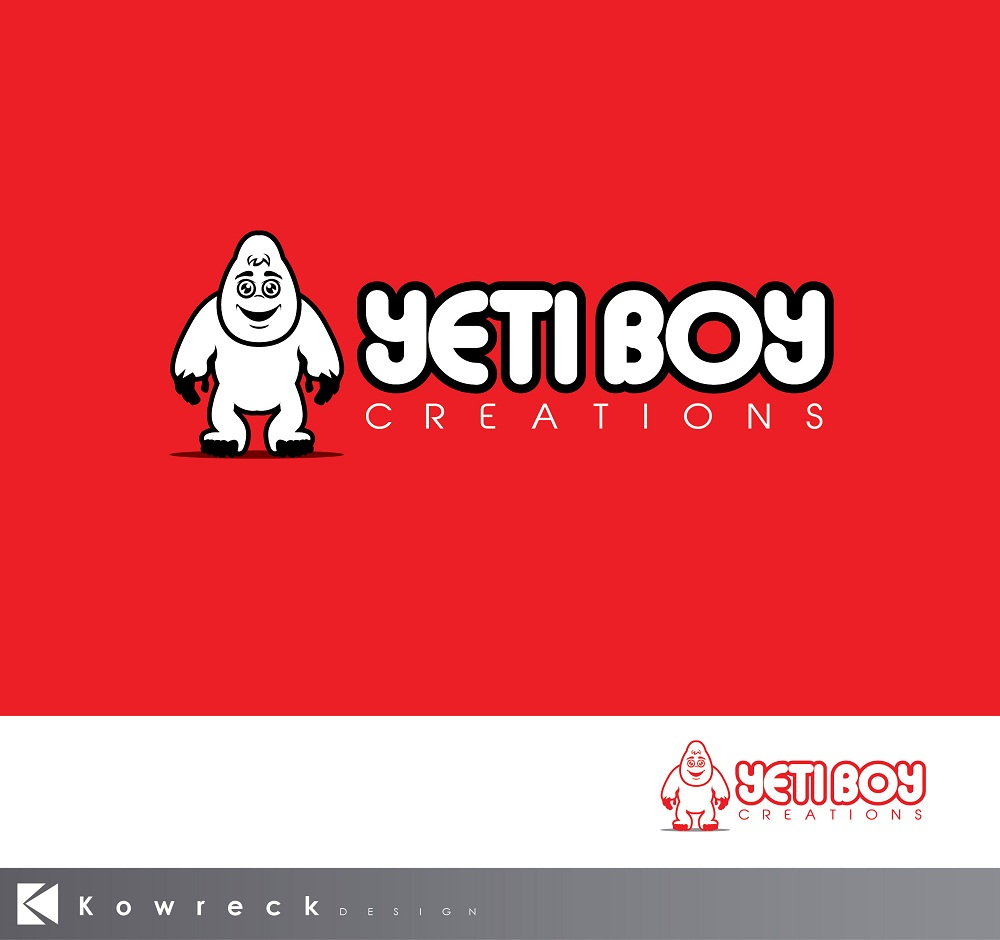 Logo Design by kowreck - Entry No. 29 in the Logo Design Contest Captivating Logo Design for Yeti Boy Creations.