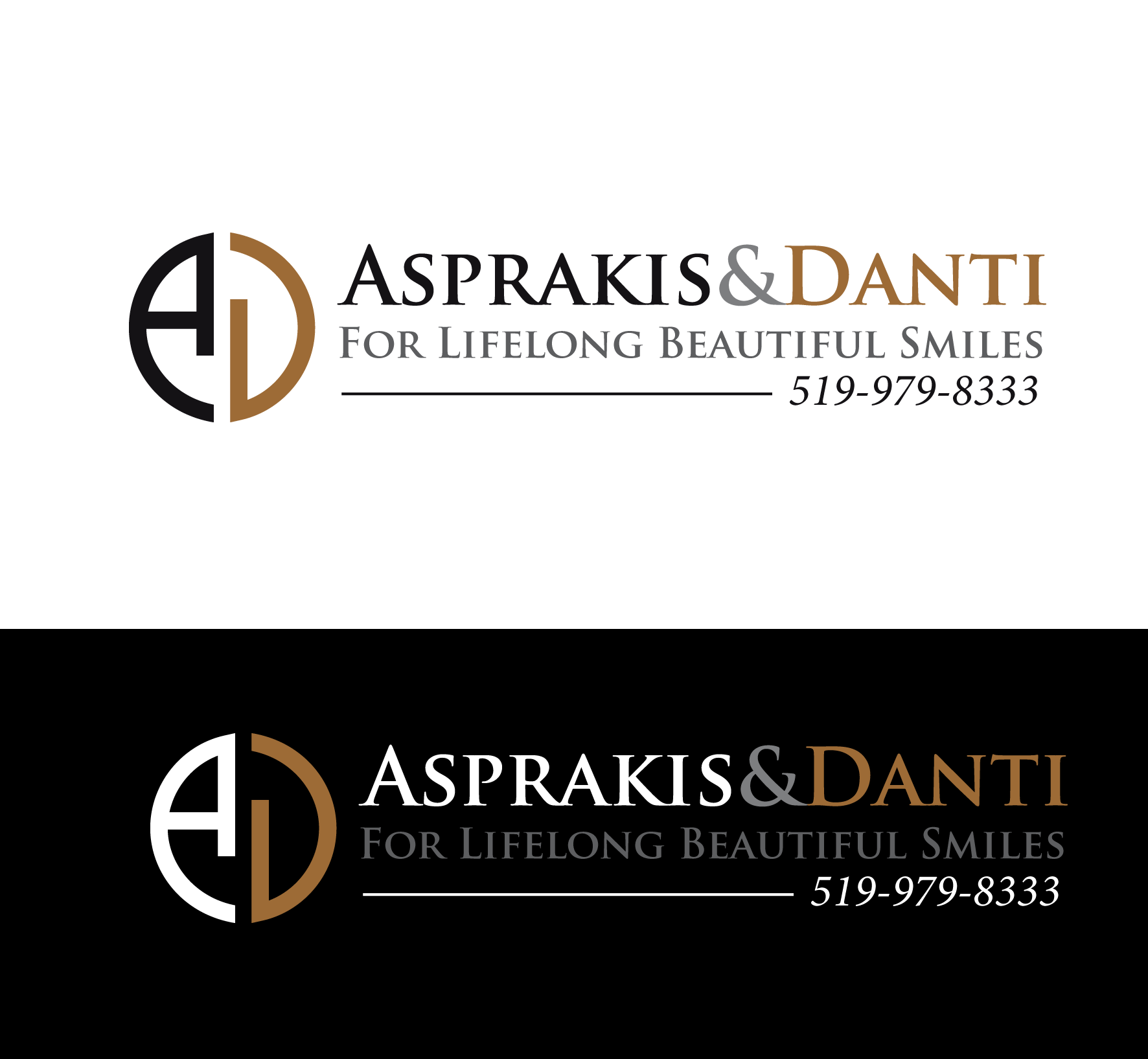 Logo Design by luna - Entry No. 77 in the Logo Design Contest Unique Logo Design Wanted for Asprakis and Danti.