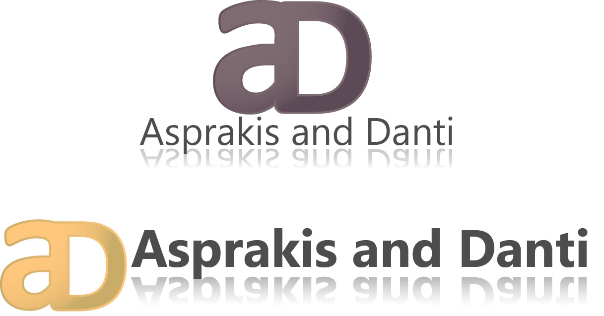 Logo Design by Jonathan Aclado - Entry No. 78 in the Logo Design Contest Unique Logo Design Wanted for Asprakis and Danti.