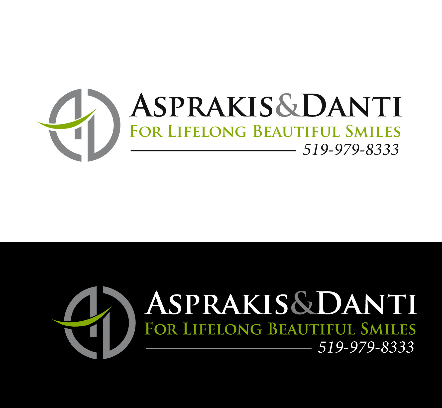 Logo Design by luna - Entry No. 79 in the Logo Design Contest Unique Logo Design Wanted for Asprakis and Danti.