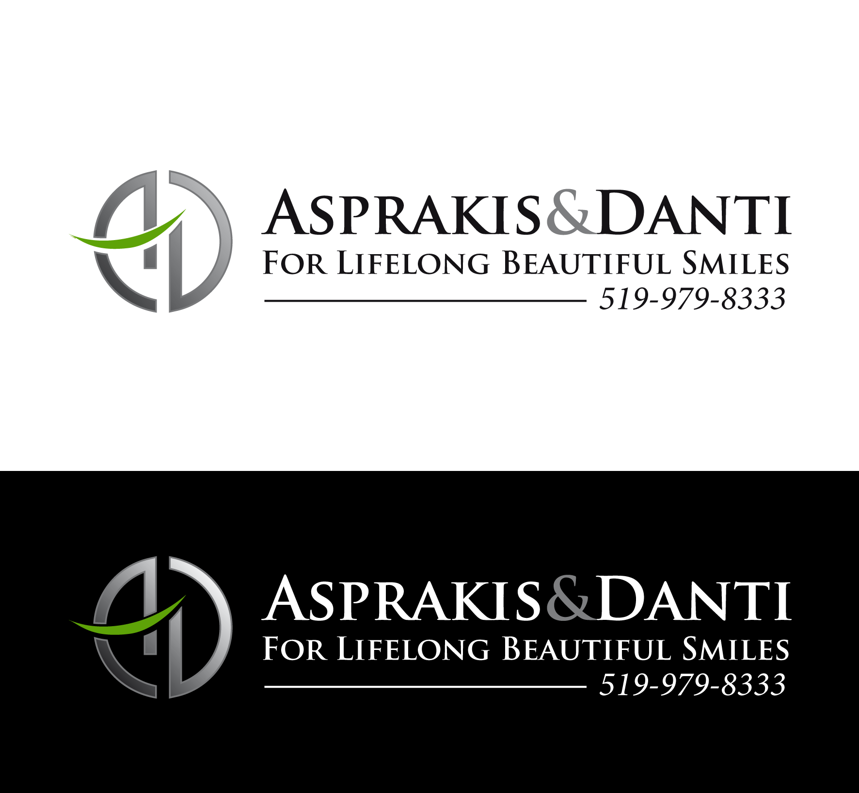 Logo Design by luna - Entry No. 80 in the Logo Design Contest Unique Logo Design Wanted for Asprakis and Danti.