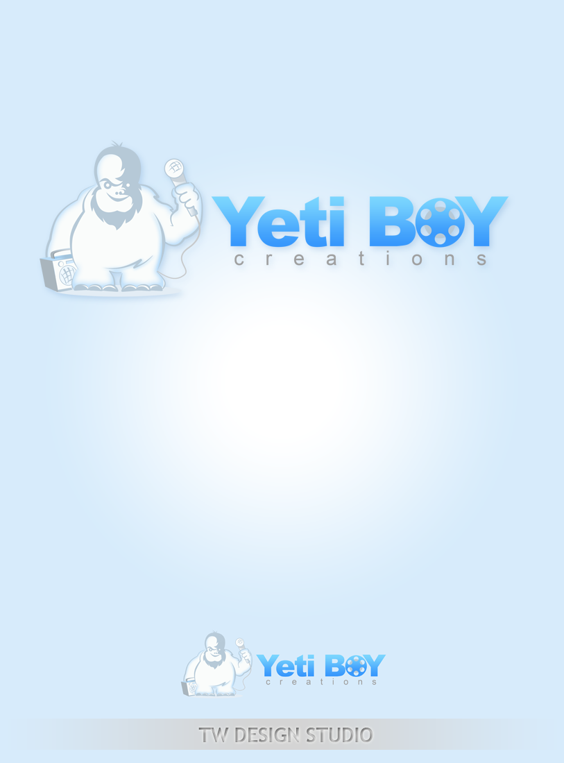 Logo Design by Private User - Entry No. 32 in the Logo Design Contest Captivating Logo Design for Yeti Boy Creations.