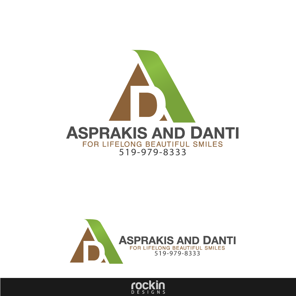 Logo Design by rockin - Entry No. 82 in the Logo Design Contest Unique Logo Design Wanted for Asprakis and Danti.