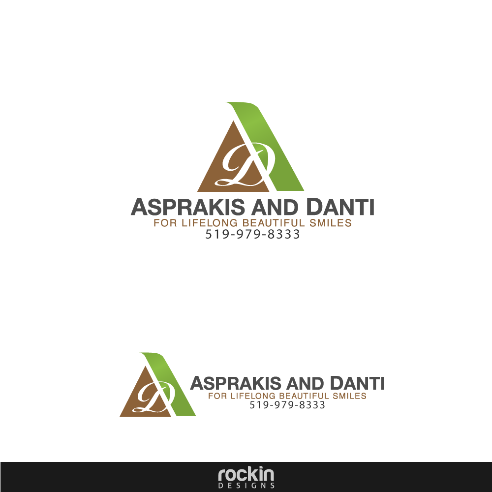 Logo Design by rockin - Entry No. 83 in the Logo Design Contest Unique Logo Design Wanted for Asprakis and Danti.