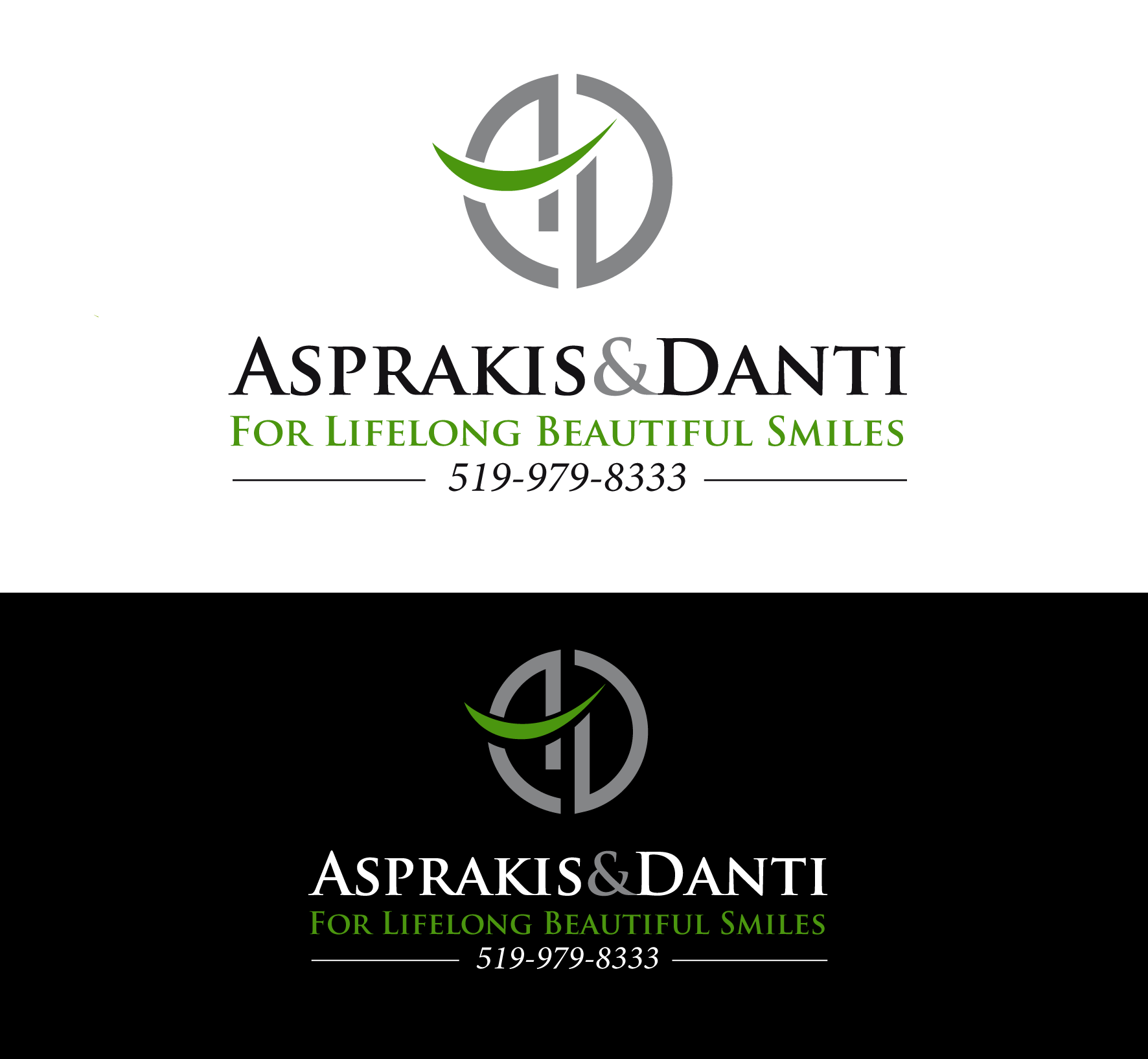 Logo Design by luna - Entry No. 87 in the Logo Design Contest Unique Logo Design Wanted for Asprakis and Danti.