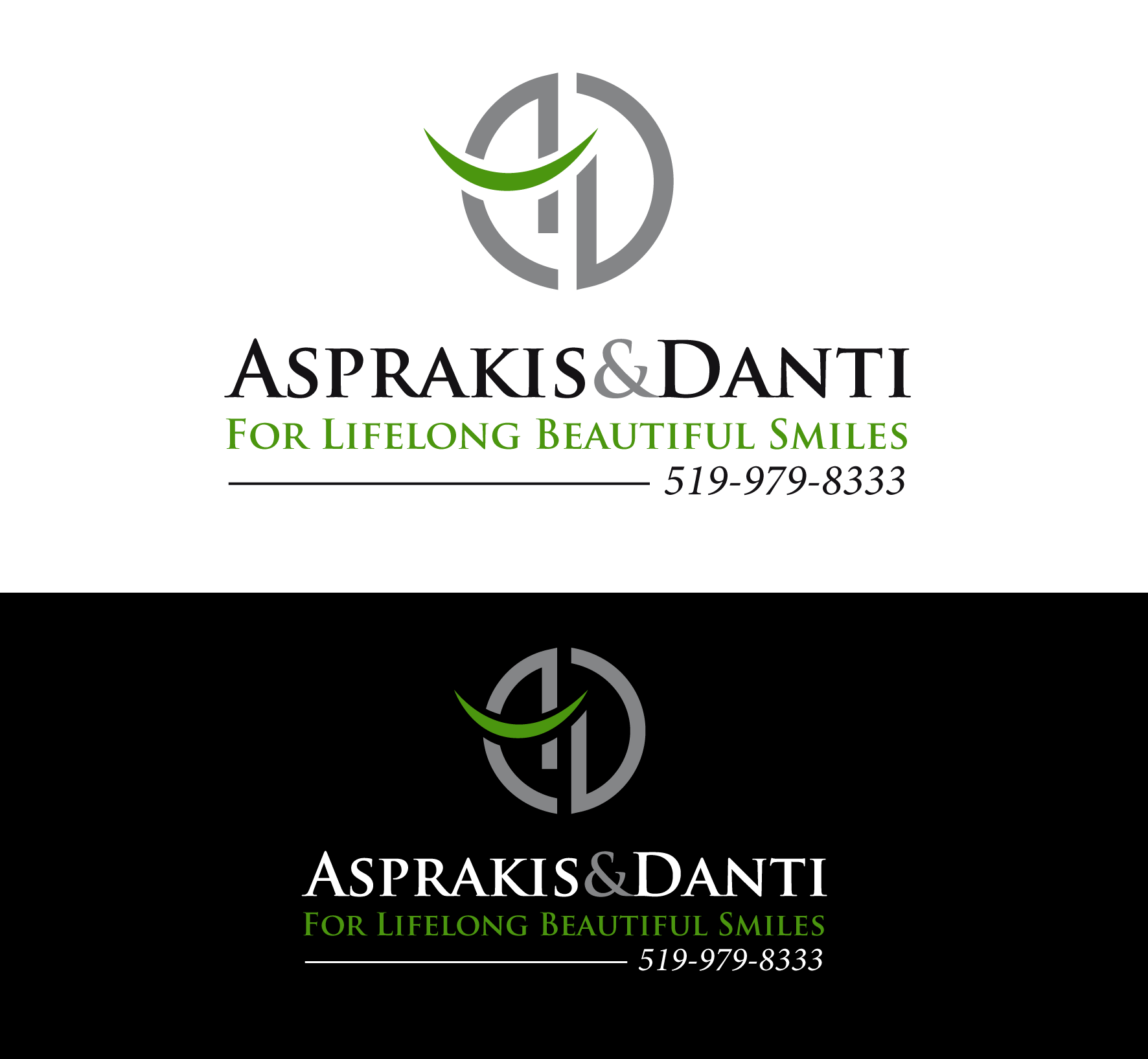 Logo Design by luna - Entry No. 88 in the Logo Design Contest Unique Logo Design Wanted for Asprakis and Danti.